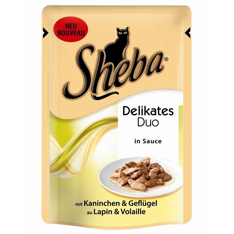 Sheba Portionsbeutel Delikates Duo, Bild 2