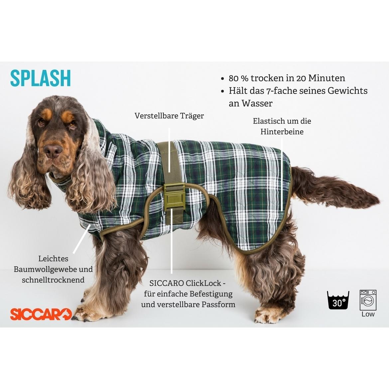 SICCARO Hundebademantel WetDog Splash, Bild 4