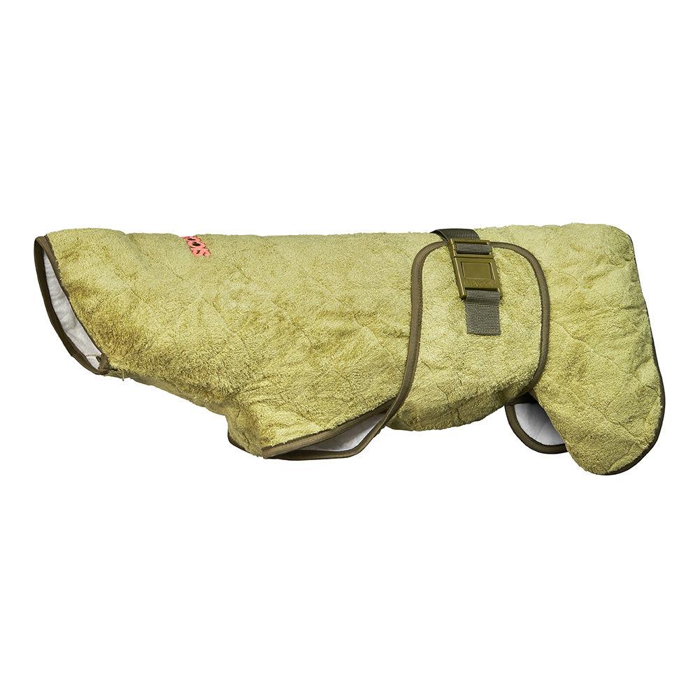 SICCARO Hundemantel Bademantel WetDog SupremePro, Bamboo M, Rücken 37-47 cm