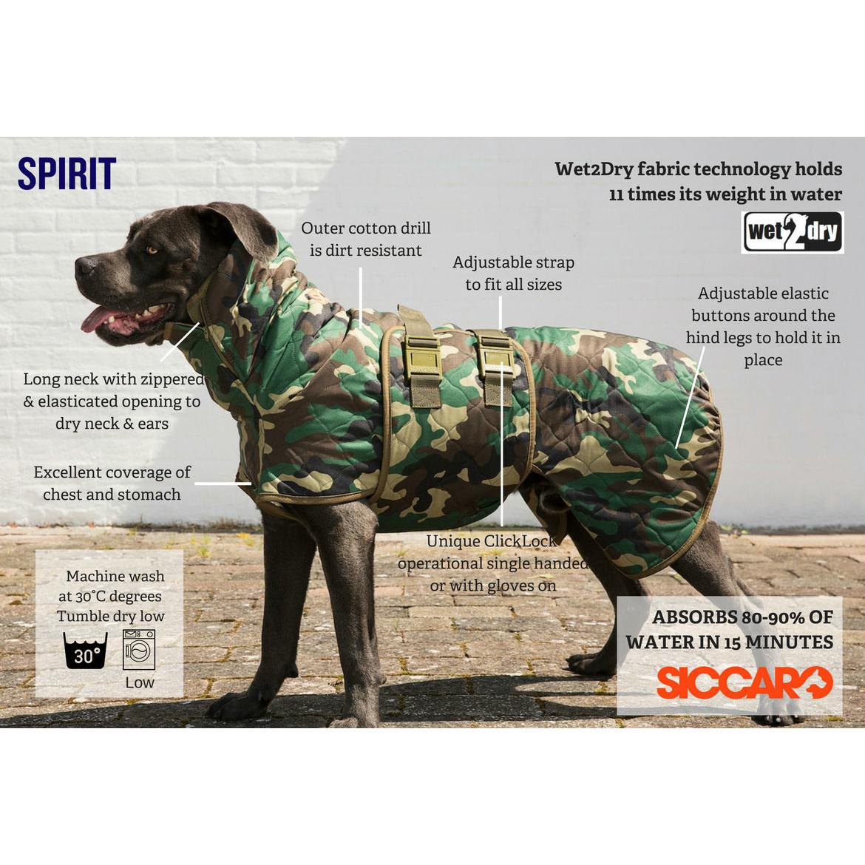 SICCARO Hundemantel WetDog Spirit, Bild 8