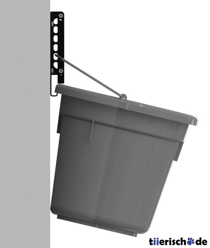 Kerbl Sicherheitswandhalter für Futtereimer FlatBack, Bild 2