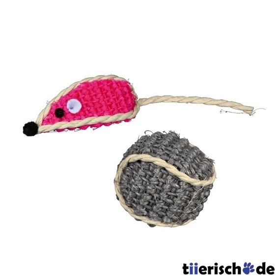 Trixie Sisal-Spielzeug-Set für Katzen 40760, Bild 4