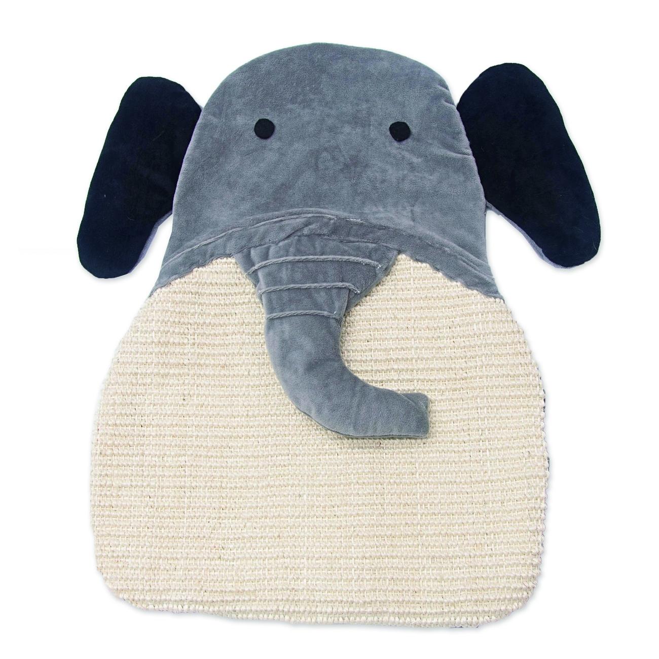 Aumüller Sisalkratzbrett Schmuse-Elefant
