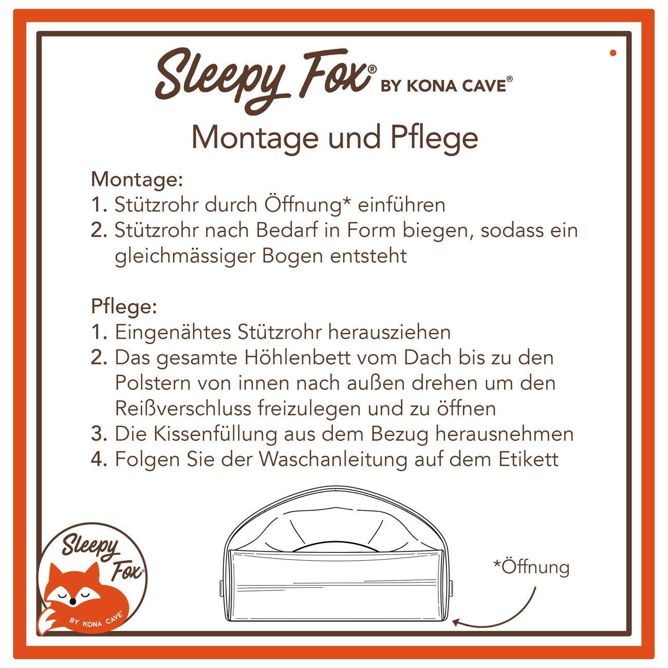Sleepy Fox® Kuschelhöhlen Hundebett, Bild 17