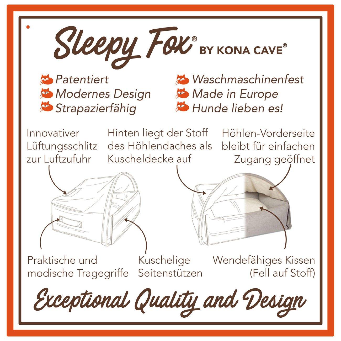 Sleepy Fox® Kuschelhöhlen Hundebett, Bild 15