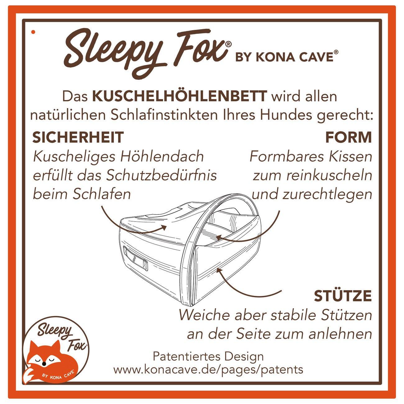 Sleepy Fox® Kuschelhöhlen Hundebett, Bild 16