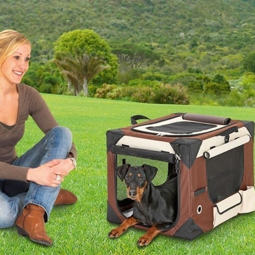 Karlie Smart Top Deluxe Hundebox Transportbox, Bild 6
