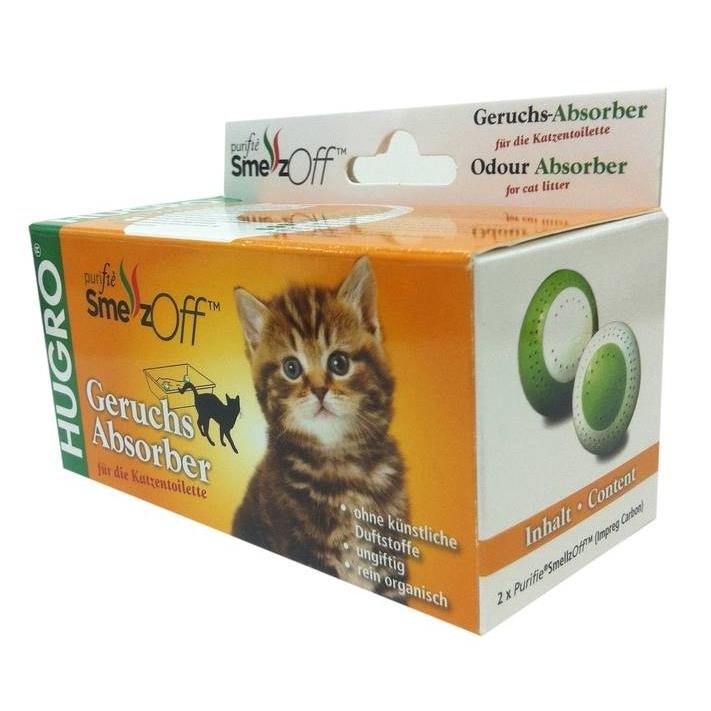 Purifie SmellzOff Geruchsabsorber für das Katzenklo, Geruchsentferner