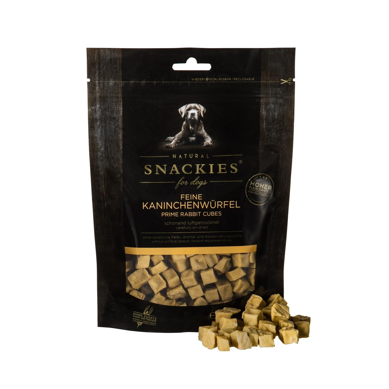 Snackies luftgetrocknete Fleischwürfel für Hunde, Bild 3