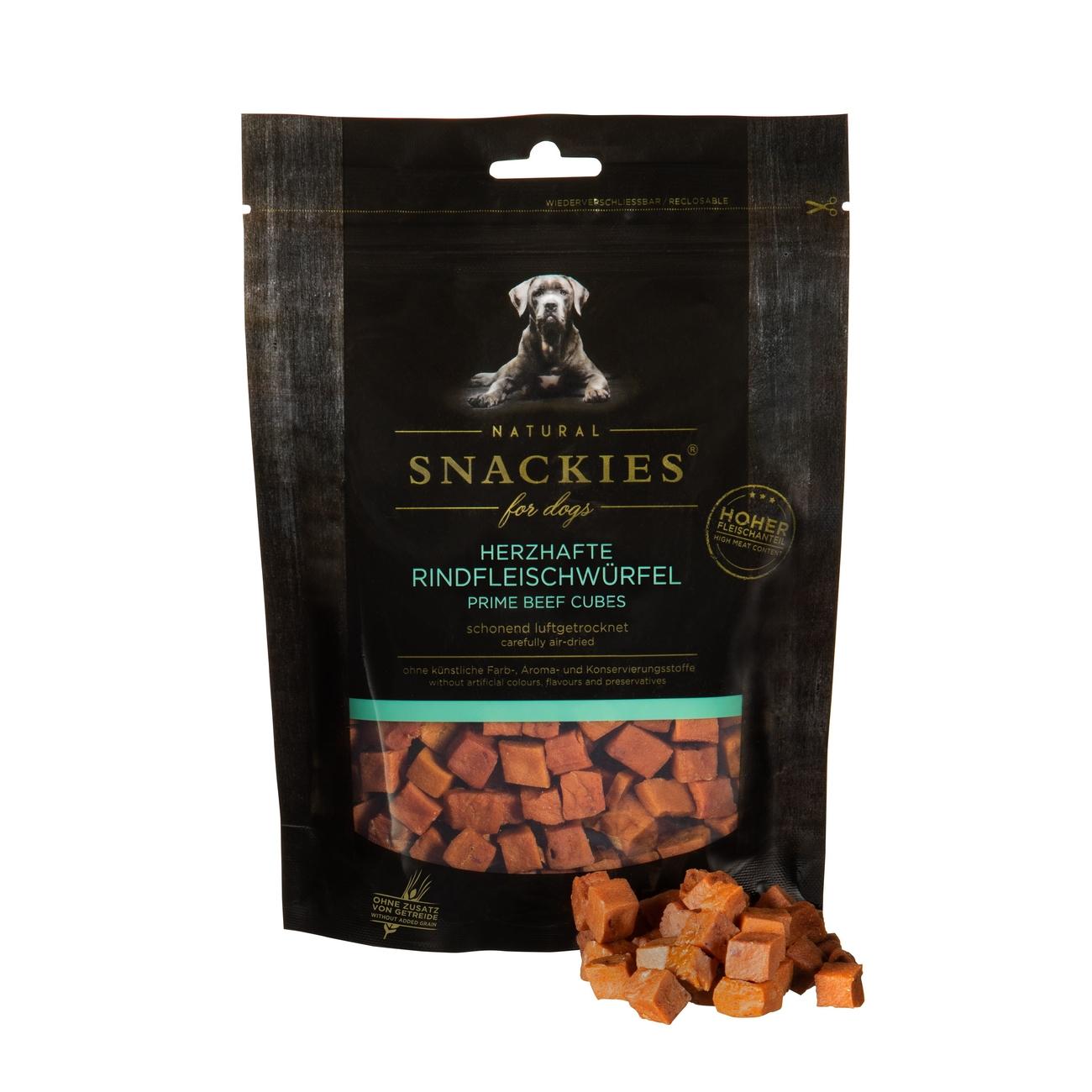 Snackies luftgetrocknete Fleischwürfel für Hunde, Bild 4