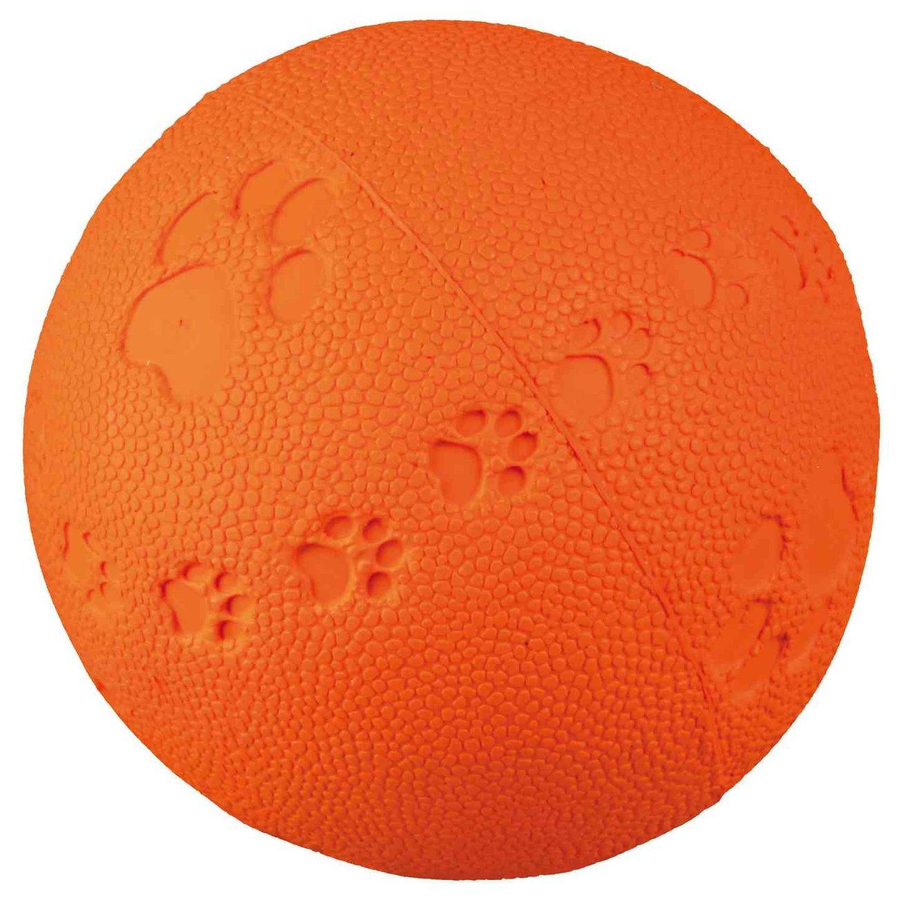 TRIXIE Spielball für Hunde aus Gummi mit Quietscher 34861