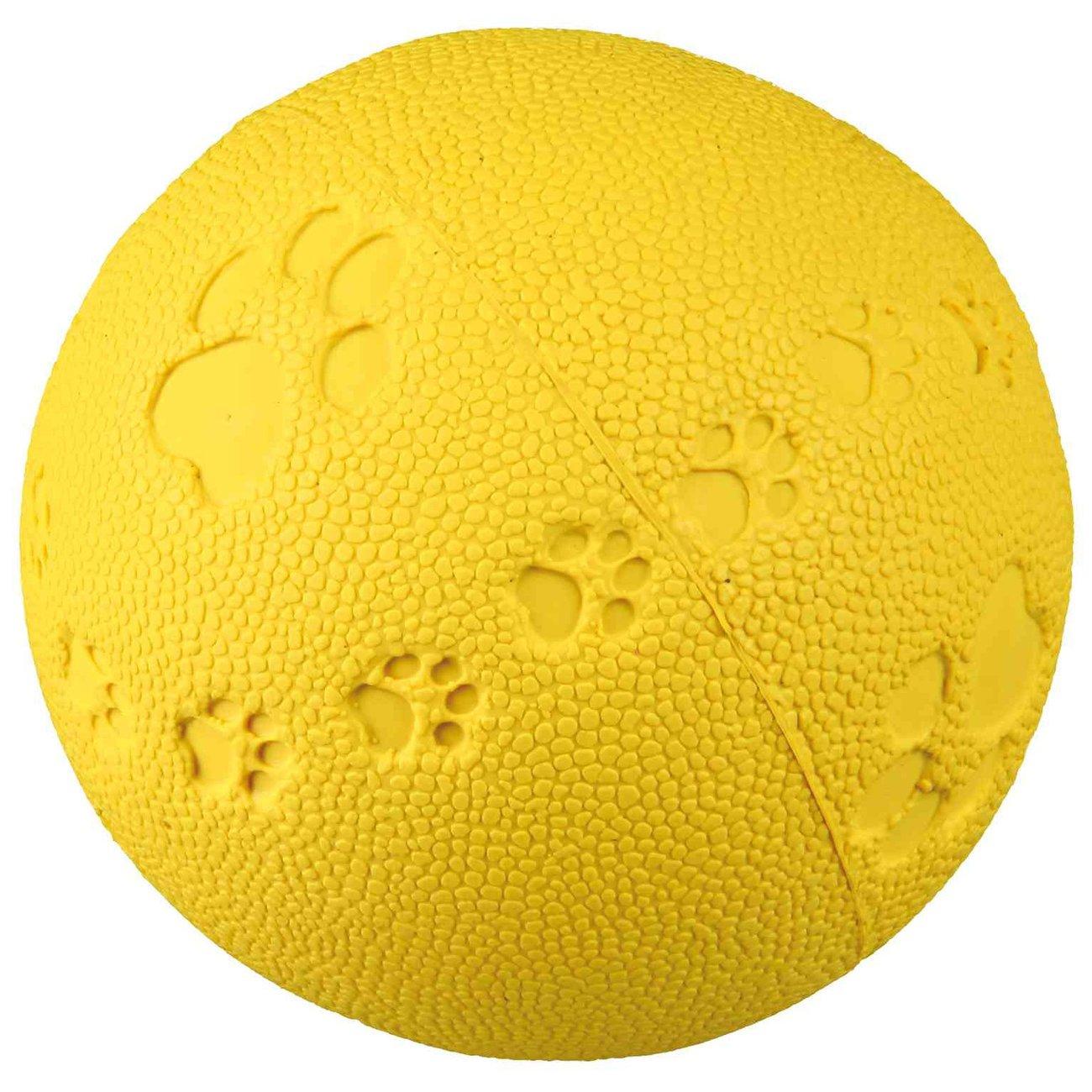 TRIXIE Spielball für Hunde aus Gummi mit Quietscher 34861, Bild 3