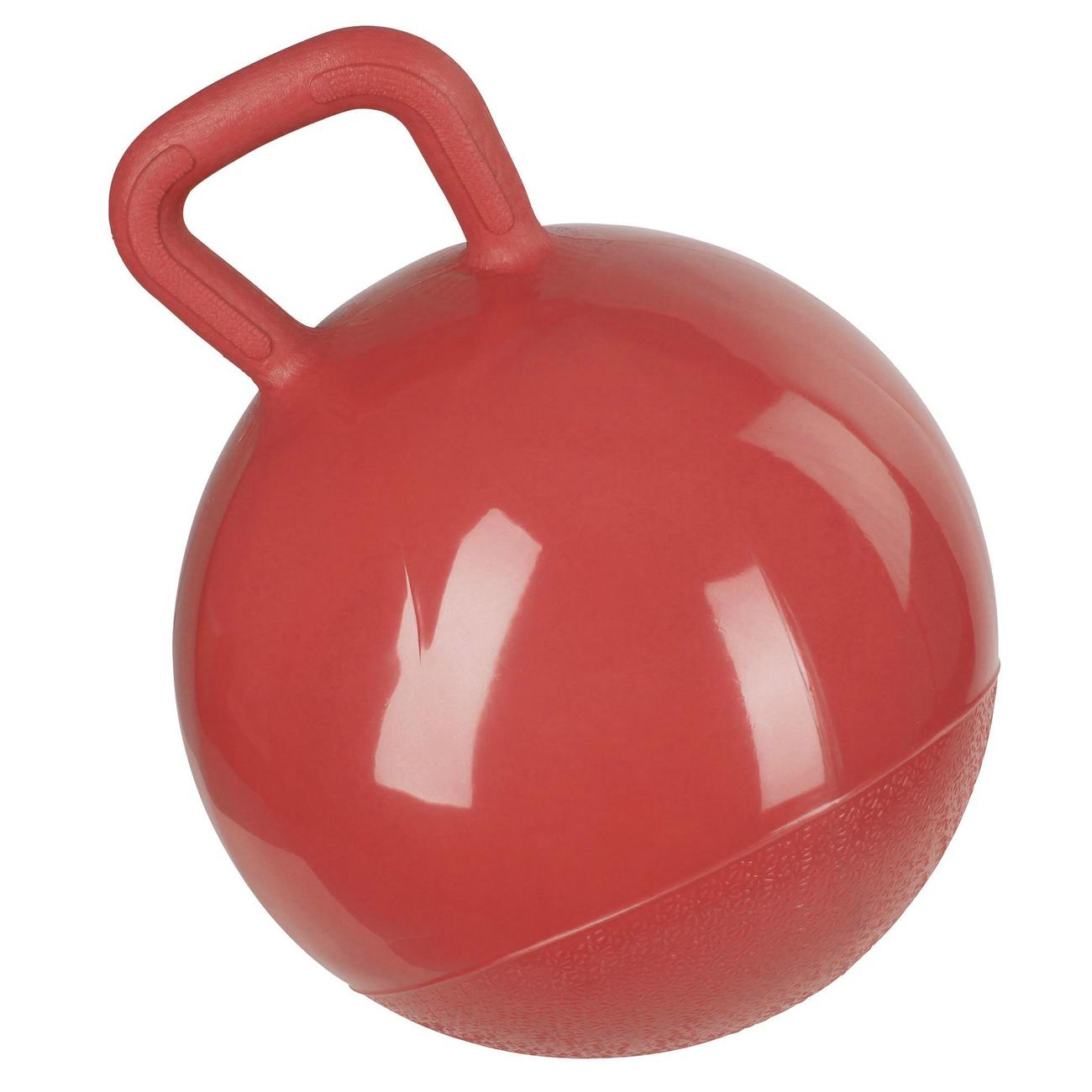 Kerbl Spielball für Pferde, rot, 25 cm