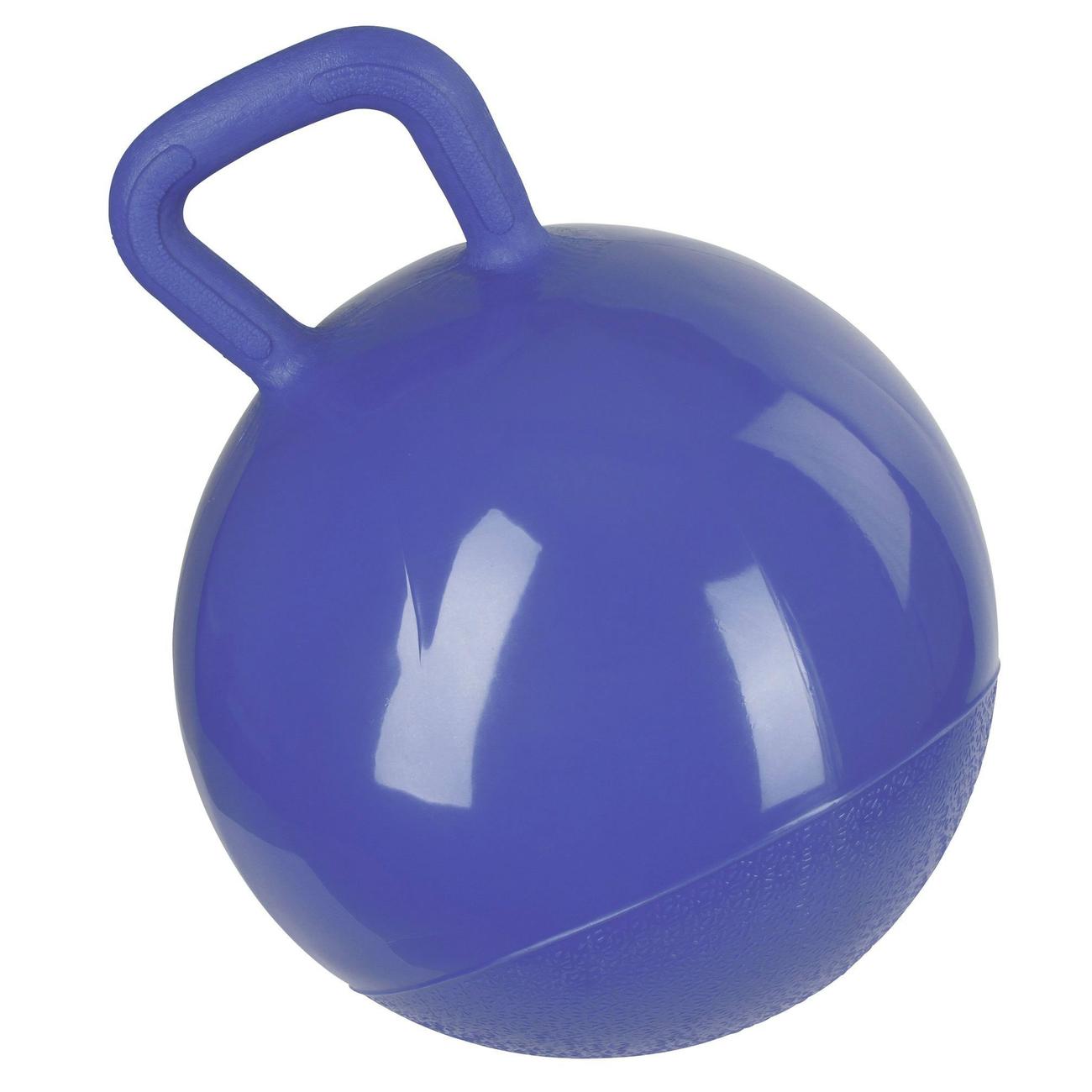 Kerbl Spielball für Pferde, blau, 25 cm