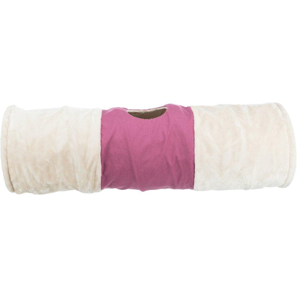 Trixie Katzen Spieltunnel XXL, ø 35 × 115 cm, beige