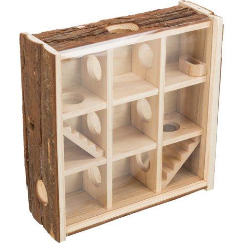 Trixie Spielturm für Hamster und Mäuse, 30 × 30 × 10 cm