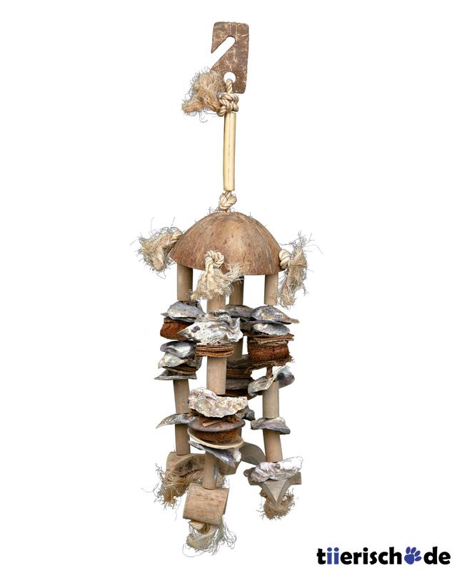 Trixie Spielzeug am Sisalseil für Vögel