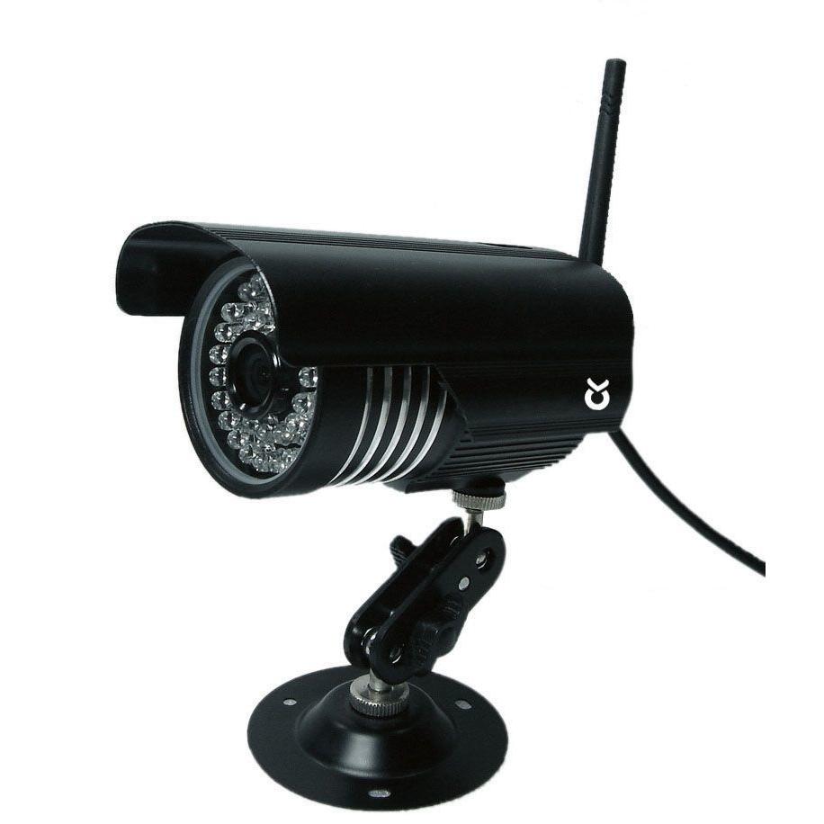 Kerbl Stallkameraset Anhängerkameraset 2,4 GHz, Zusatzkamera, inkl. Außen- antenne, Kabel und Zubehör