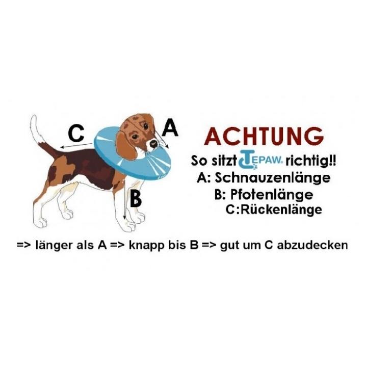 TEPAW Schutzkragen Leckschutz für Hunde, Bild 2