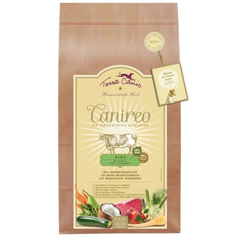 Terra Canis Canireo Rind Trockenfutter für Hunde