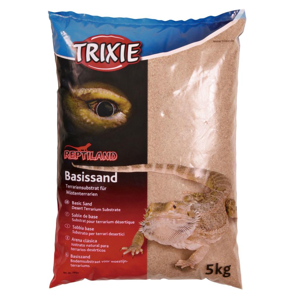 Trixie Terrarium Basissand Wüstensand, gelb 76131
