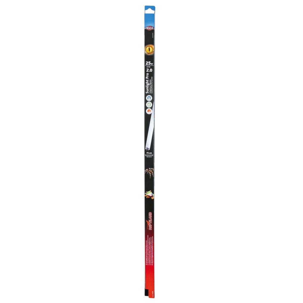 Trixie Terrarium Leuchtstoffröhre Sunlight Pro 2.0, T8 UV Leuchtstoffröhre 25 W/75cm