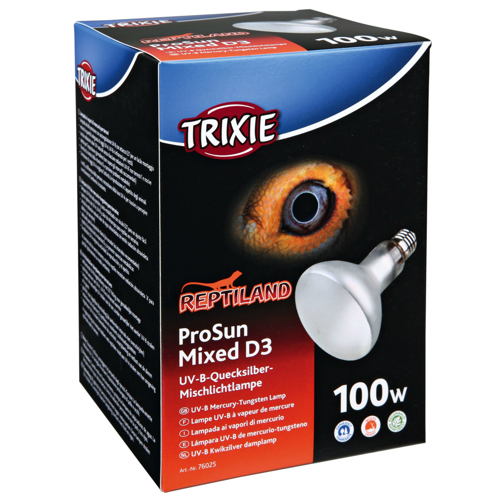 TRIXIE Terrarium UV Mischlicht Lampe ProSun, UV-B, selbststartend 76027