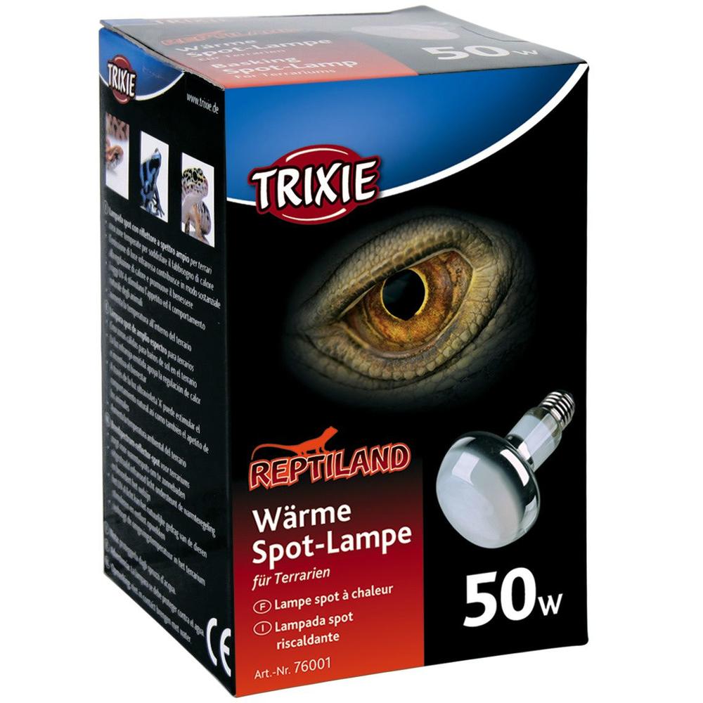 Trixie Terrarium Wärmelampe, R80, ø 63 × 100 mm, 50 W