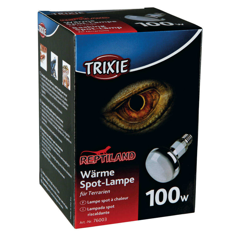 Trixie Terrarium Wärmelampe, R80, ø 80 × 100 mm, 100 W