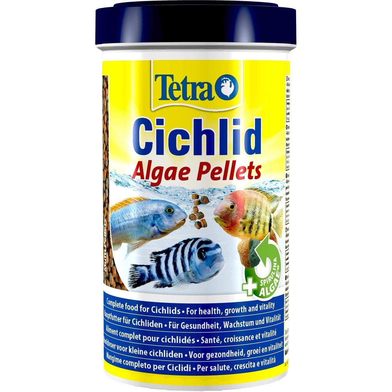 Tetra Algae Pelletfutter für Cichliden, 500 ml