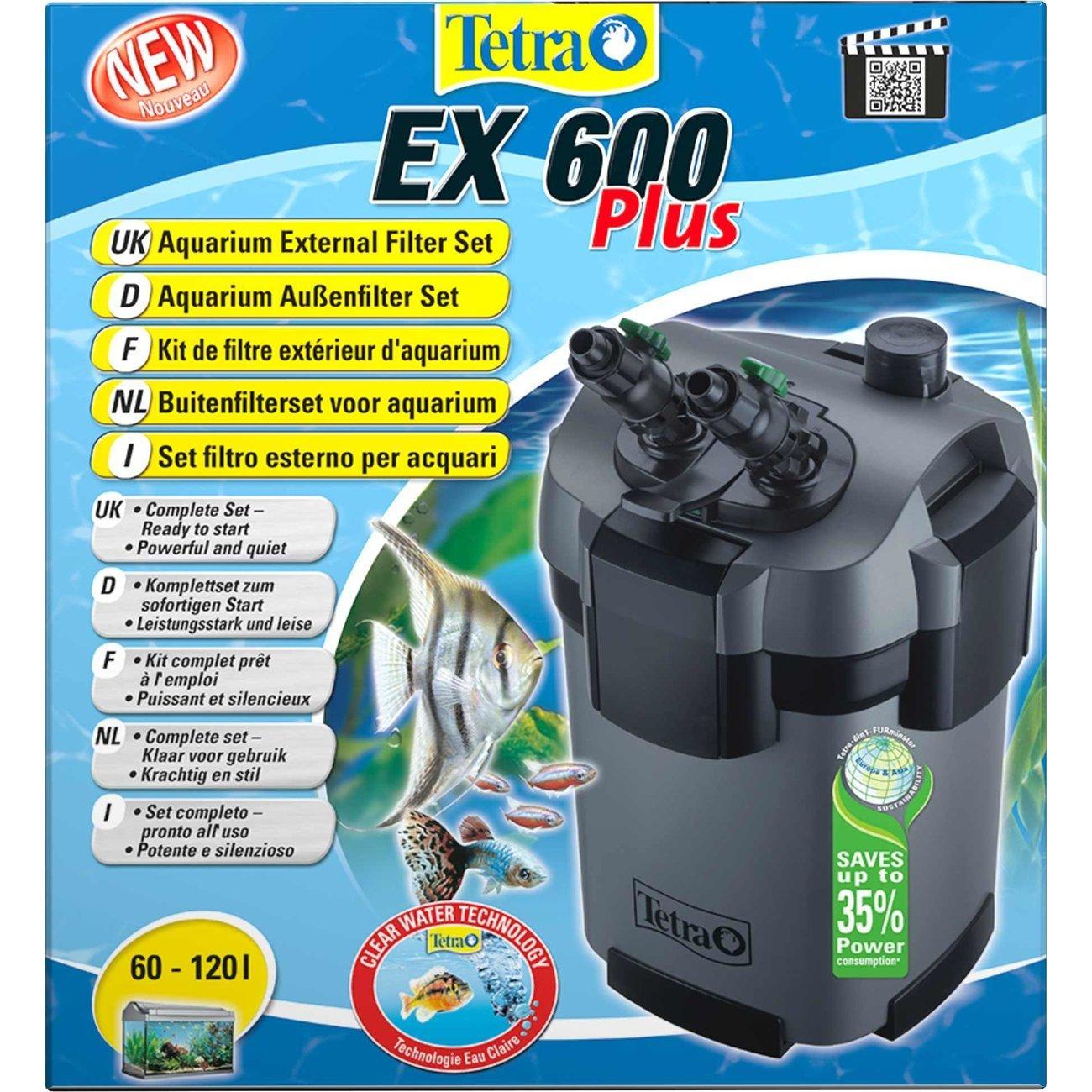 Tetra EX Plus Außenfilter, EX 600 PLUS