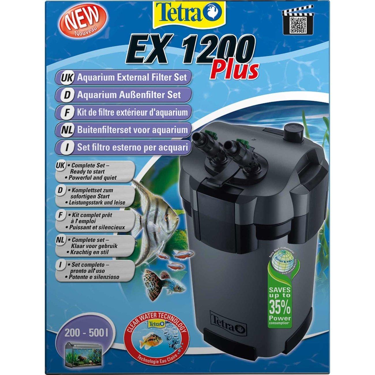 Tetra EX Plus Außenfilter, EX 1200 PLUS