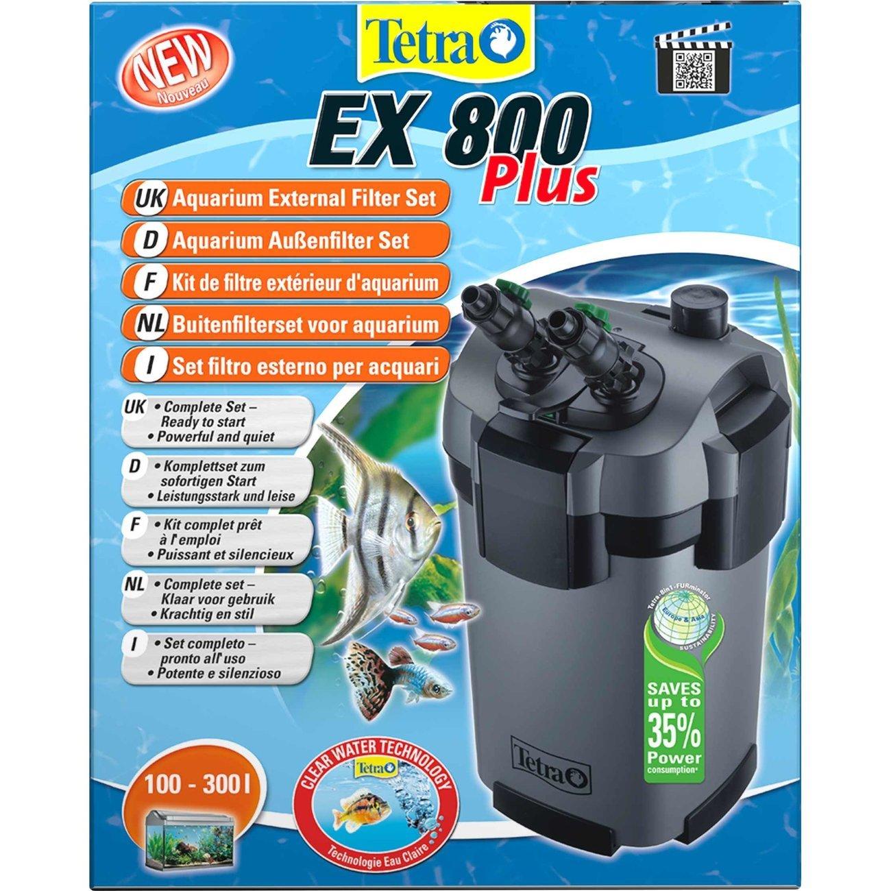 Tetra EX Plus Außenfilter, EX 800 PLUS