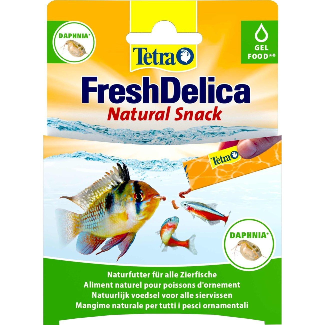Tetra FreshDelica Gelee, Daphnien, 48 g