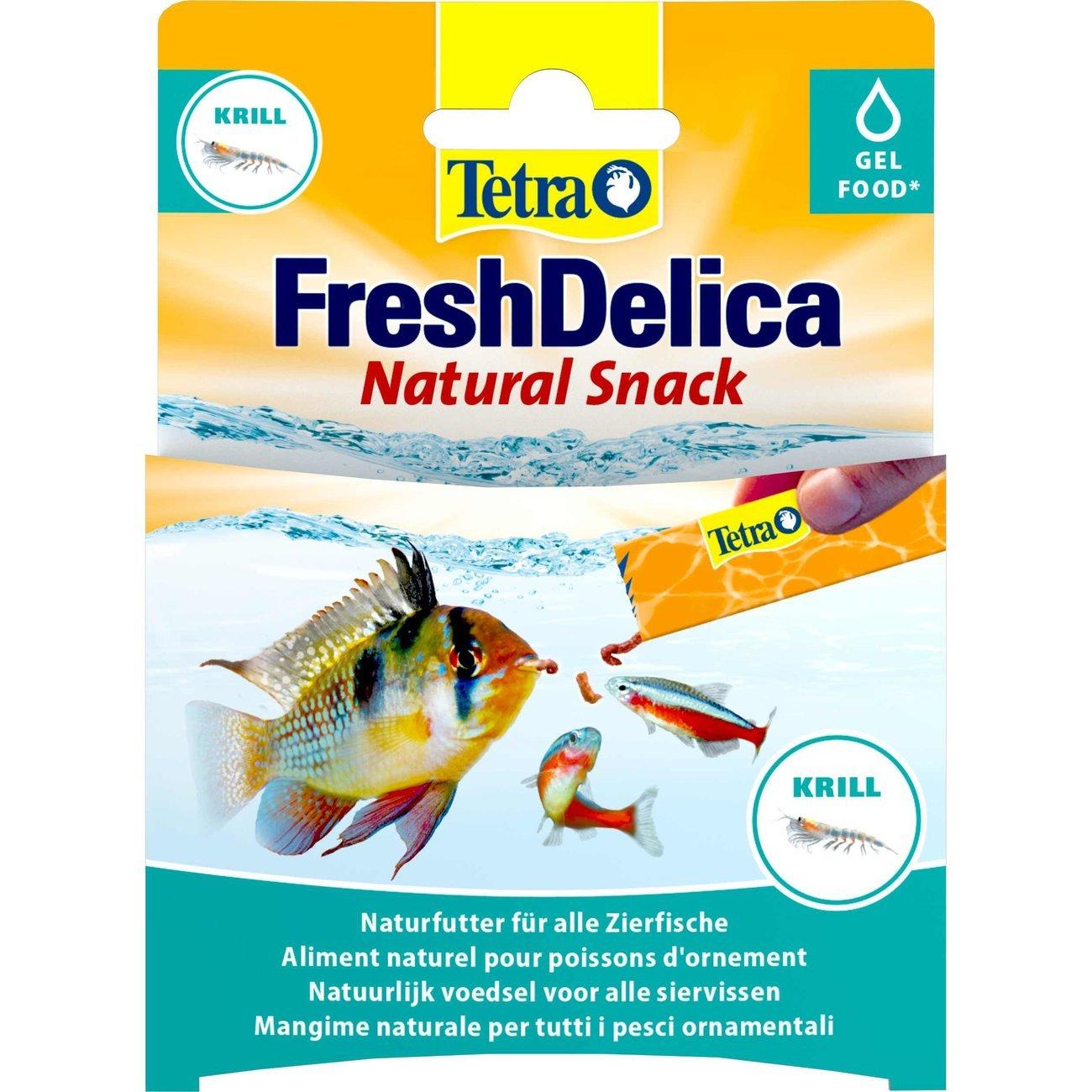 Tetra FreshDelica Gelee, Krill, 48 g