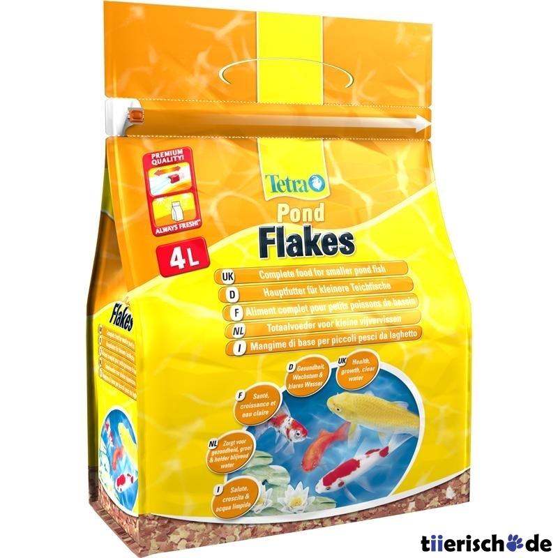 Tetra Pond Flakes Gartenteich Flocken, 4 l