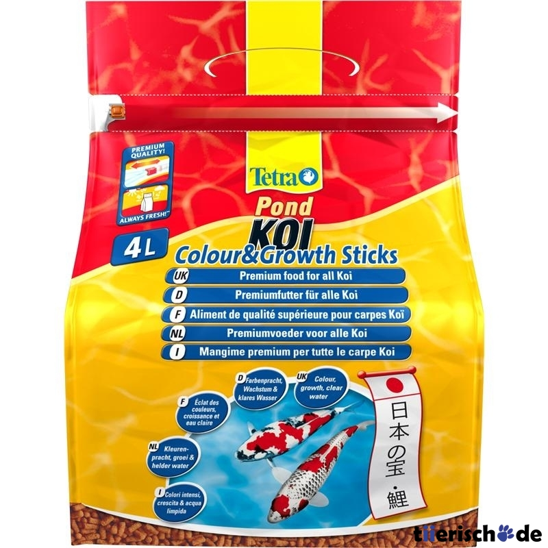 Tetra Pond Koi Sticks Colour & Growth, Bild 2