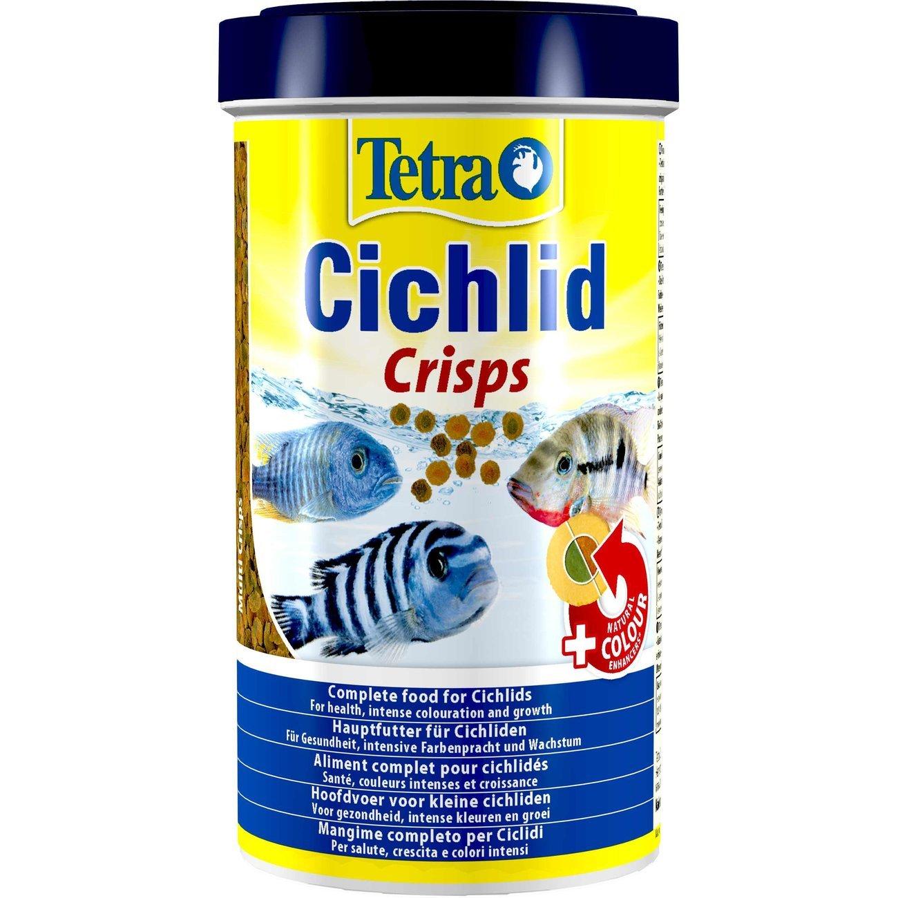 TetraPro Crisps für Cichliden, 500 ml