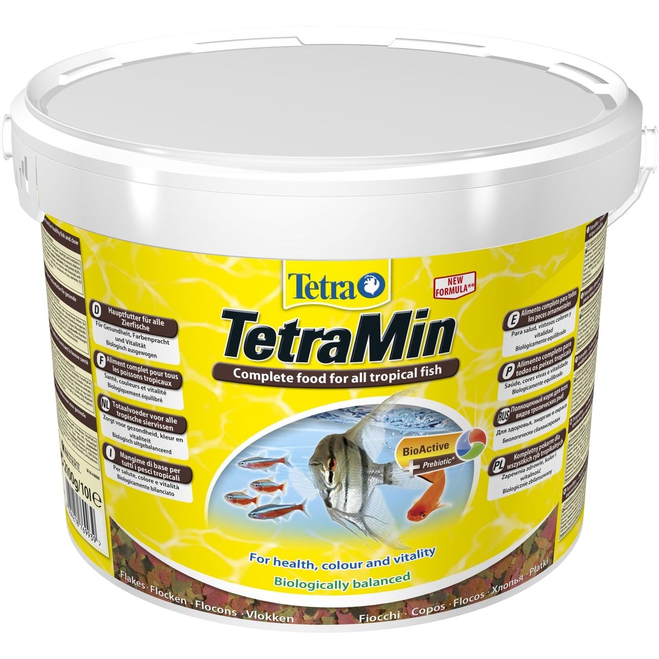 TetraMin Hauptfutter für alle Zierfische, 10 l