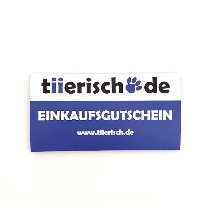 tiierisch.de Einkaufs Gutschein zum Verschenken, Bild 2