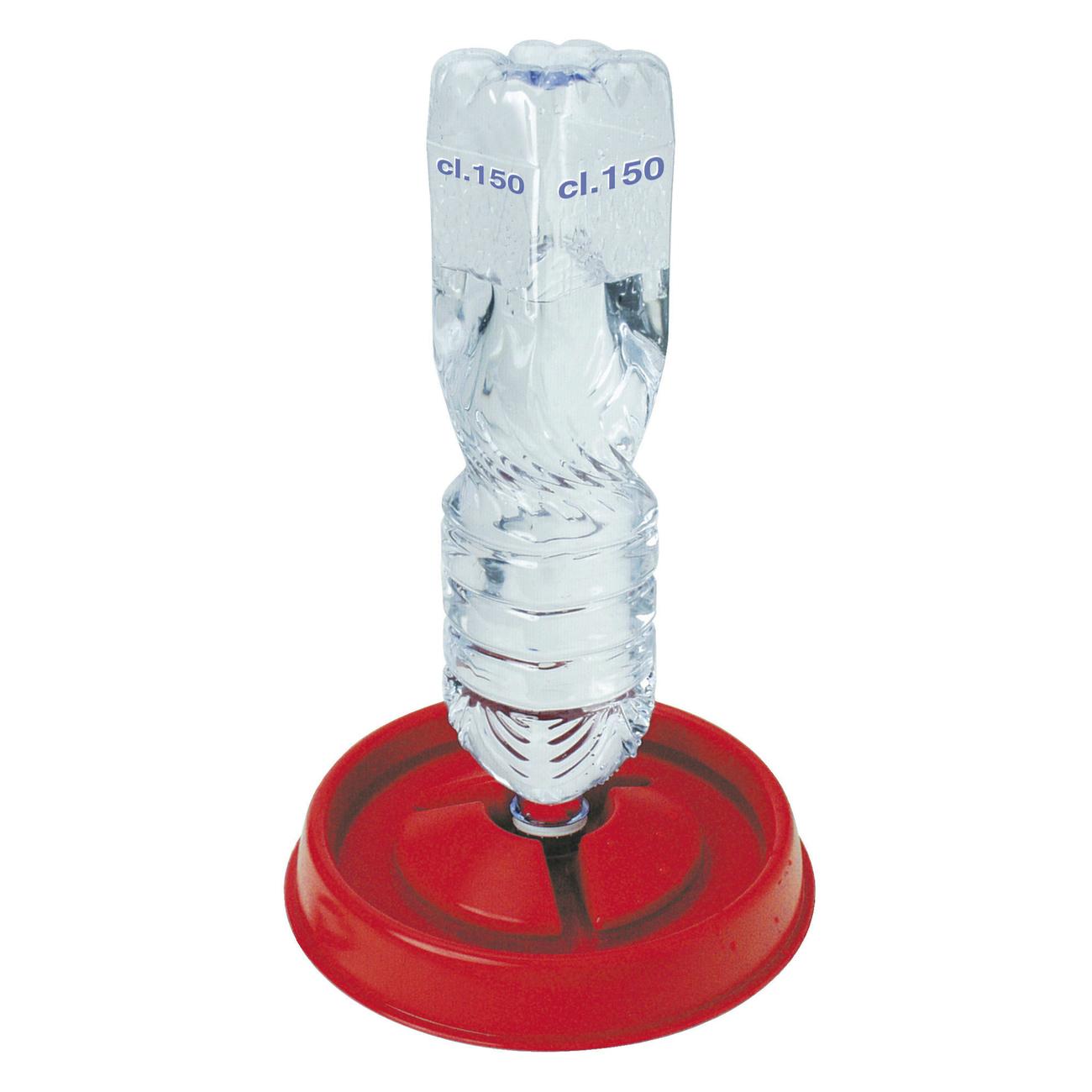 Kerbl Geflügeltränke Tränkeschale für Kunststoffflasche