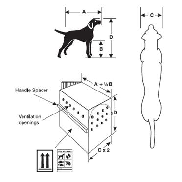 Trixie Transportbox Hund Gulliver, IATA Flugbox 39871, Bild 9
