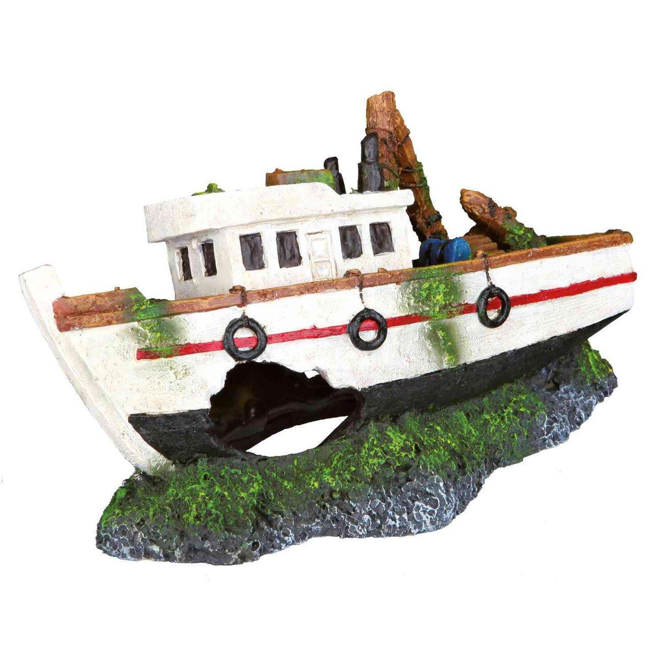 TRIXIE Aquarium Deko Fischerboot 87818
