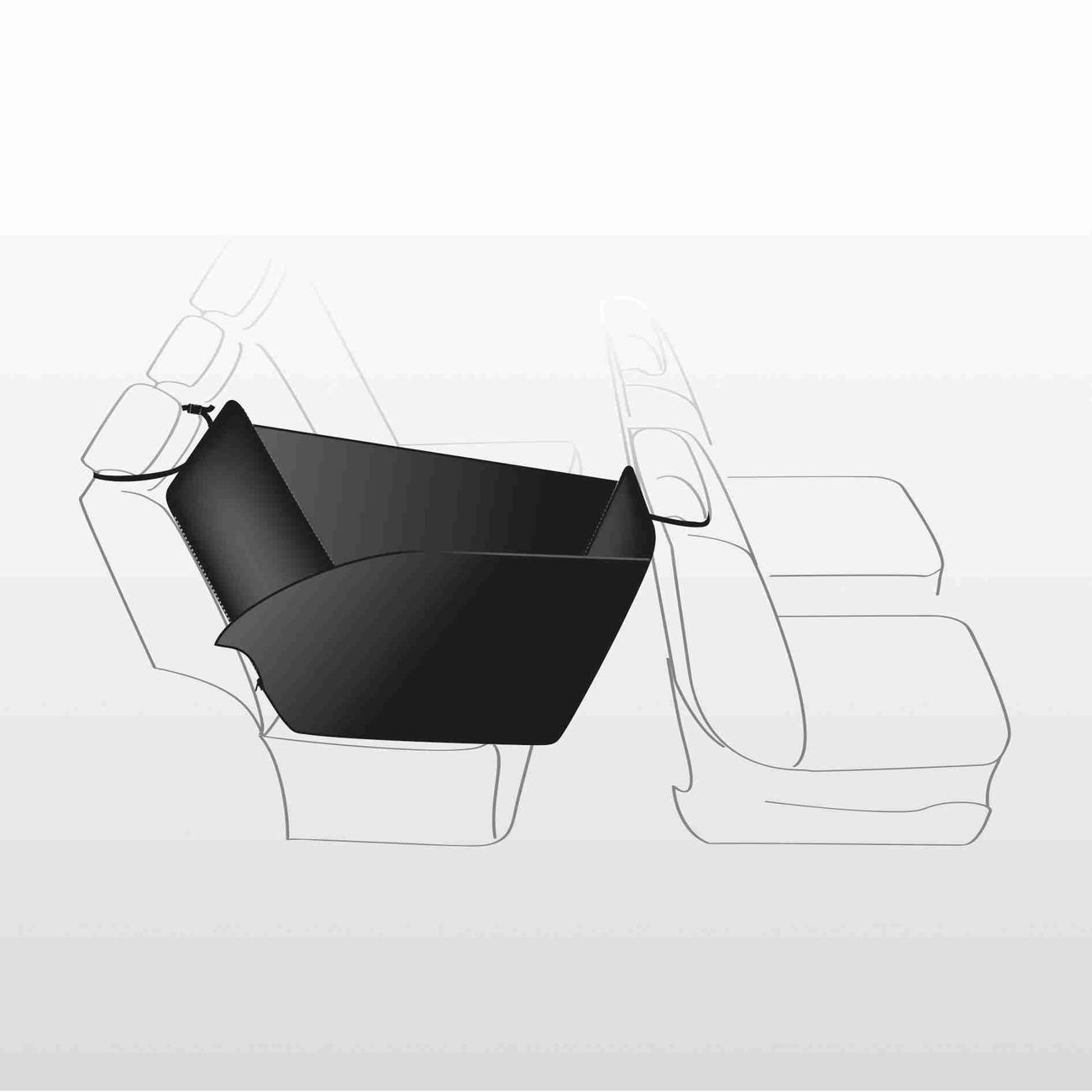 TRIXIE Auto-Schondecke für die Rückbank 1-Sitz 13231, Bild 2