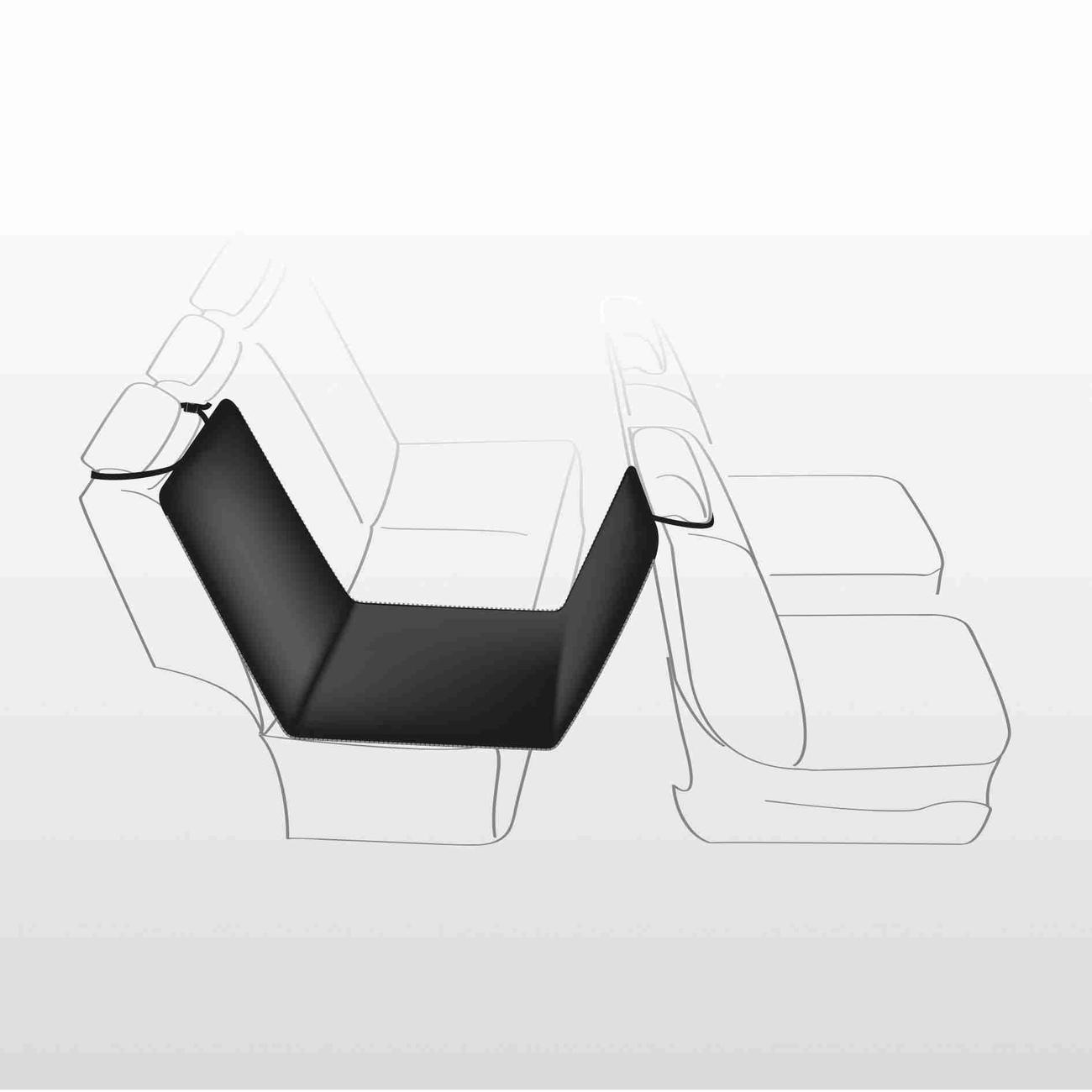 TRIXIE Auto-Schondecke für die Rückbank 1-Sitz 13231, Bild 3