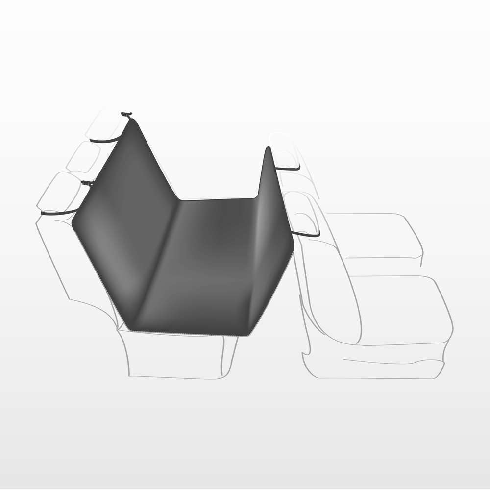 Trixie Auto-Schondecke für die Rückbank 13472, Bild 2