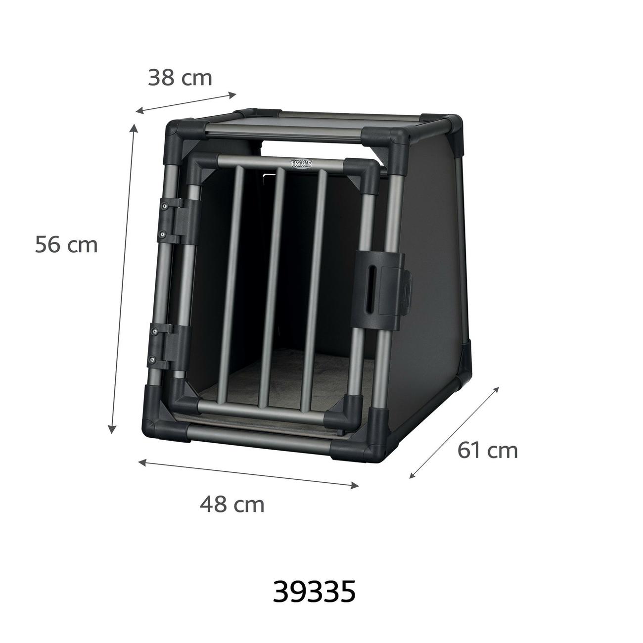 Trixie Autobox für Hunde aus Aluminium, graphit 39335, Bild 2