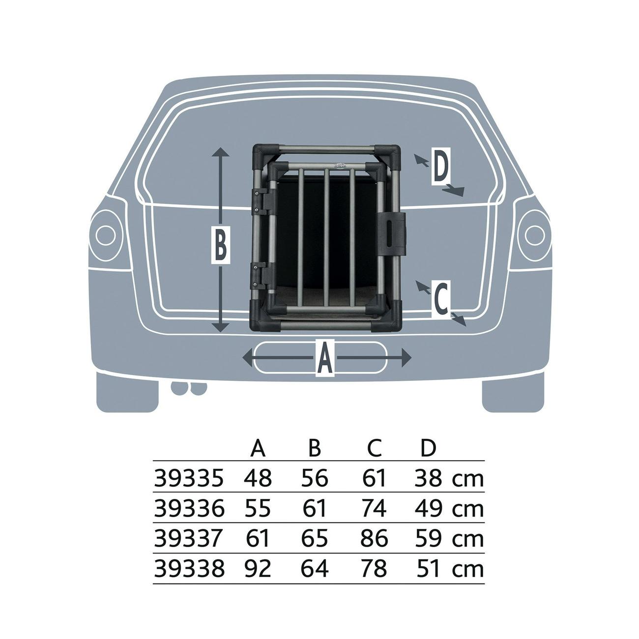 Trixie Autobox für Hunde aus Aluminium, graphit 39335, Bild 9