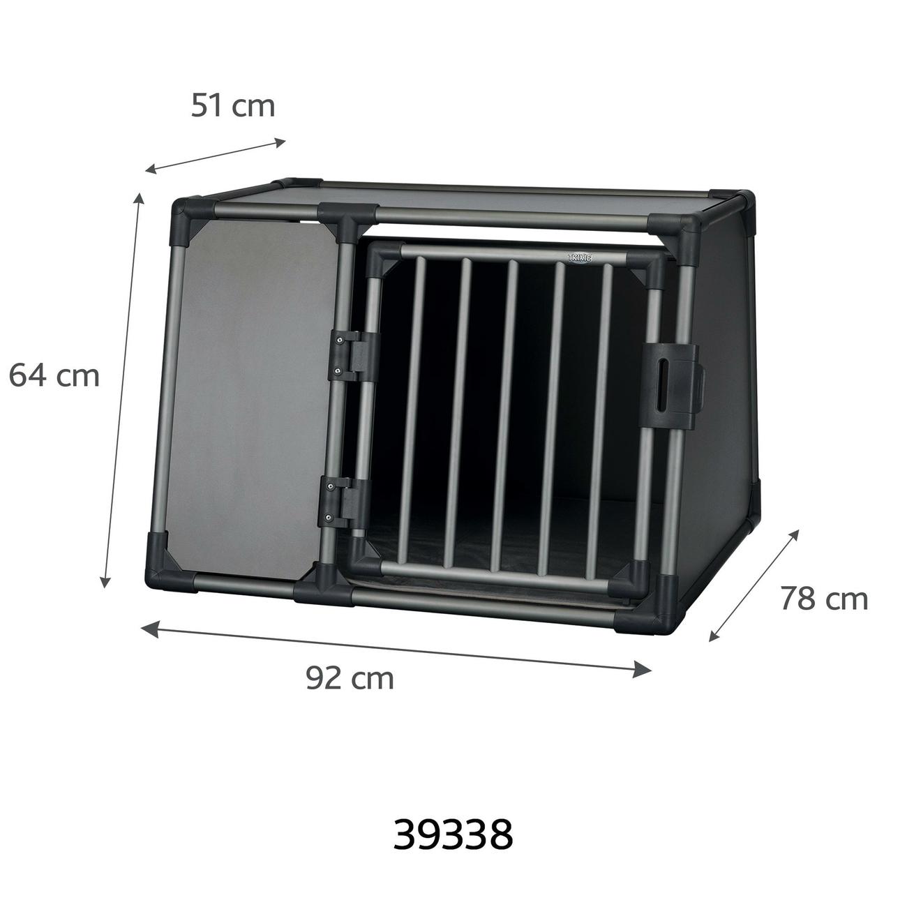 Trixie Autobox für Hunde aus Aluminium, graphit 39335, Bild 8