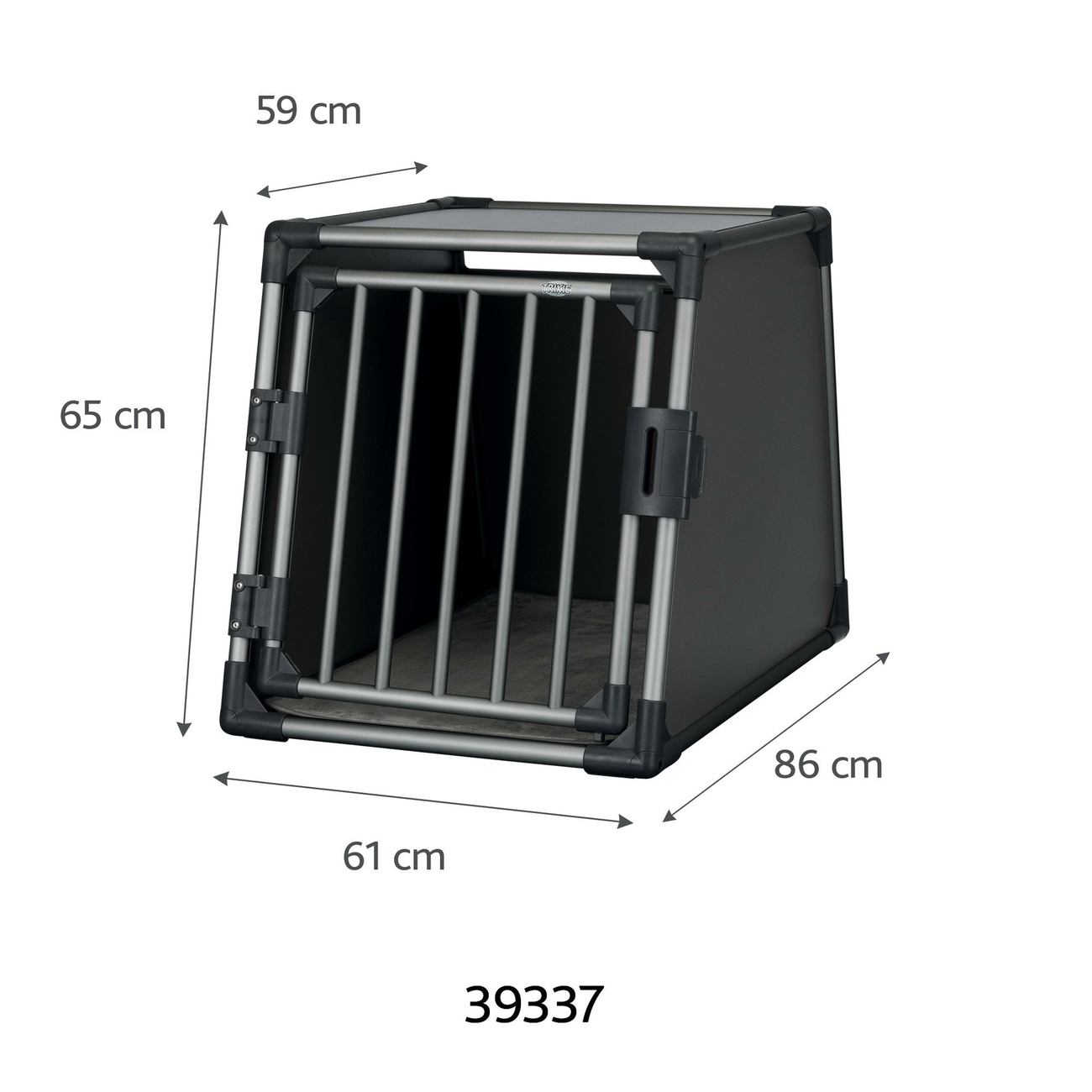 Trixie Autobox für Hunde aus Aluminium, graphit 39335, Bild 6
